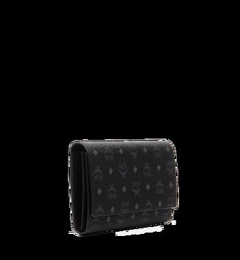 MCM Three Fold Wallet in Visetos Original MYL8SVI48BK001 AlternateView2