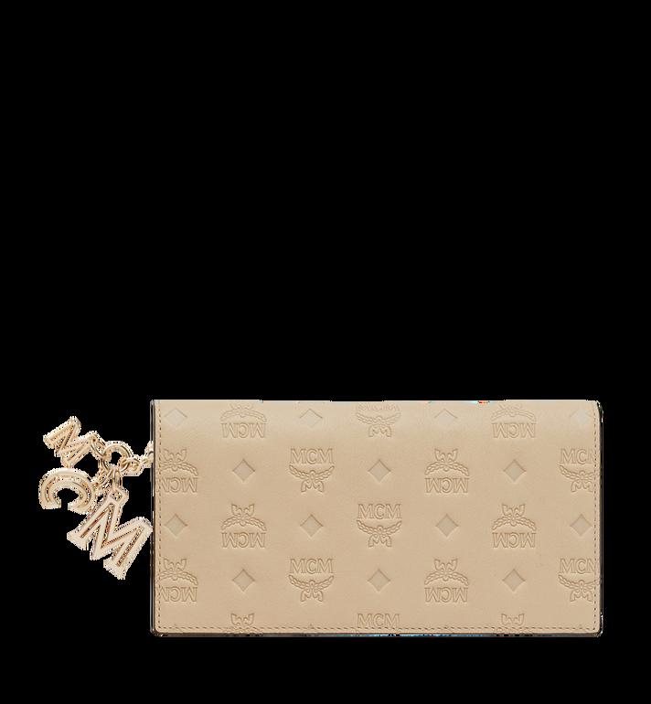 MCM Gefaltete Brieftasche aus Leder mit Monogramm Anhänger MYL9SKM12IA001 AlternateView