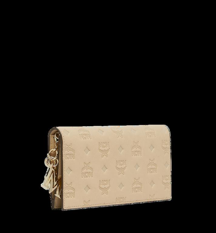 MCM Gefaltete Brieftasche aus Leder mit Monogramm Anhänger MYL9SKM12IA001 AlternateView2