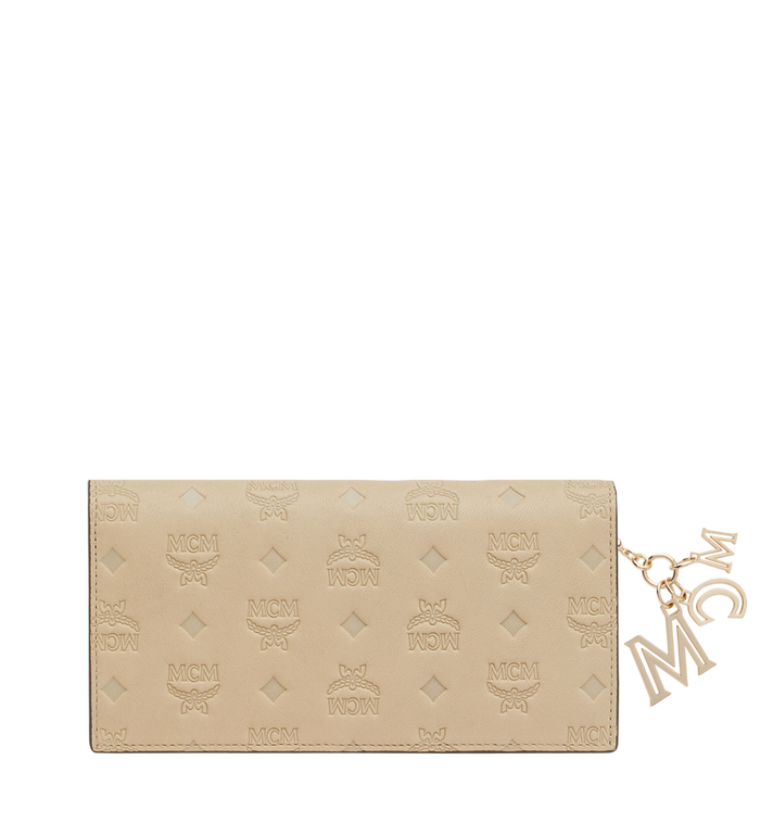 MCM Gefaltete Brieftasche aus Leder mit Monogramm Anhänger MYL9SKM12IA001 AlternateView3