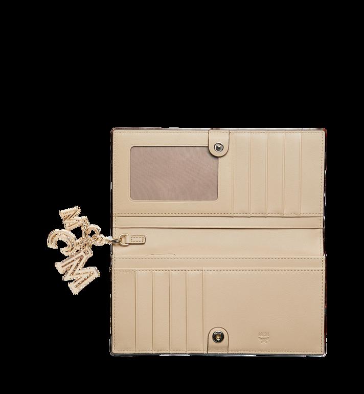 MCM Gefaltete Brieftasche aus Leder mit Monogramm Anhänger MYL9SKM12IA001 AlternateView4