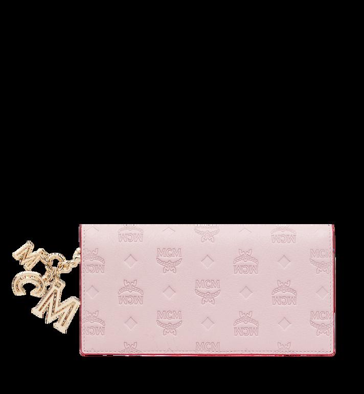 MCM Gefaltete Brieftasche aus Leder mit Monogramm Anhänger MYL9SKM12QA001 AlternateView
