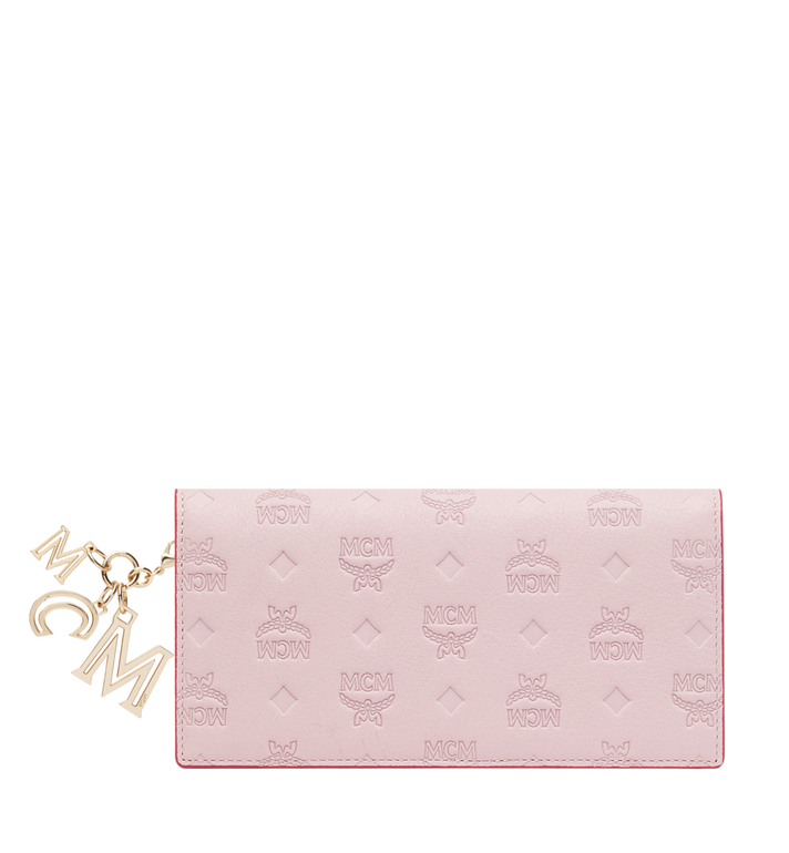 MCM Two Fold Wallet in Monogram Leather Charm MYL9SKM12QA001 AlternateView