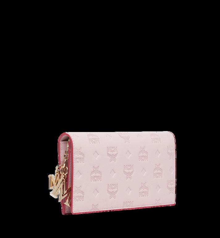 MCM Gefaltete Brieftasche aus Leder mit Monogramm Anhänger MYL9SKM12QA001 AlternateView2