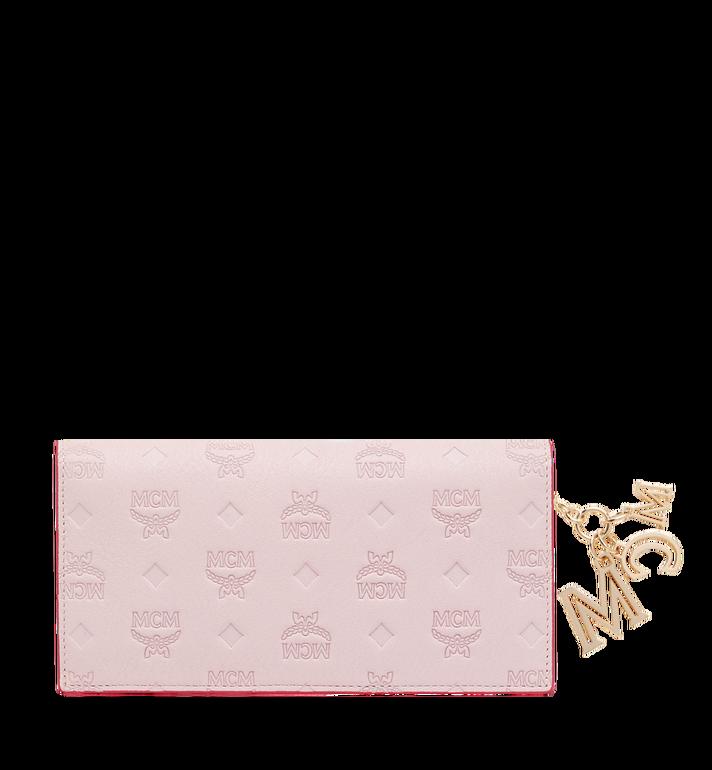 MCM Gefaltete Brieftasche aus Leder mit Monogramm Anhänger MYL9SKM12QA001 AlternateView3