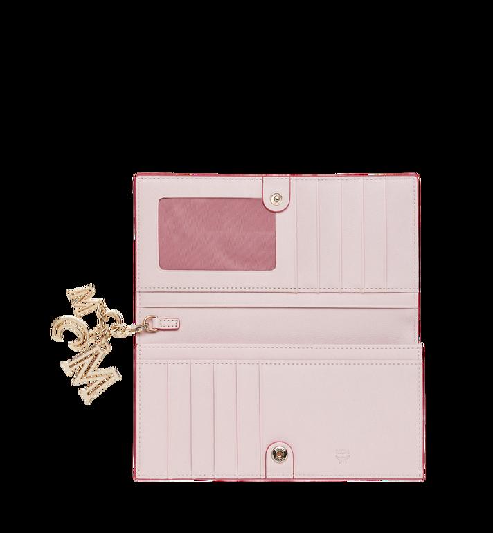 MCM Gefaltete Brieftasche aus Leder mit Monogramm Anhänger MYL9SKM12QA001 AlternateView4