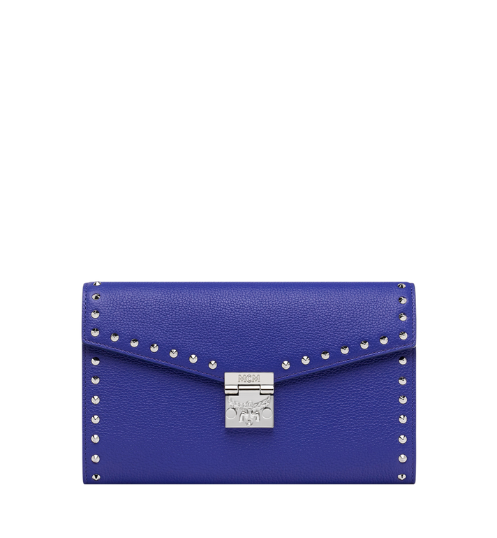MCM Patricia Continental Wallet in Studded Outline Leather MYL9SPA19HG001 AlternateView