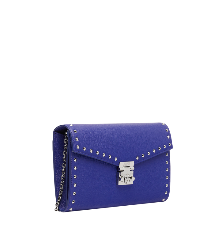 MCM Patricia Continental Wallet in Studded Outline Leather MYL9SPA19HG001 AlternateView2