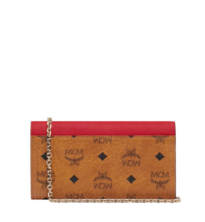 MCM Patricia Crossbody Wallet in Visetos Leather Block MYL9SPA34CD001 AlternateView3