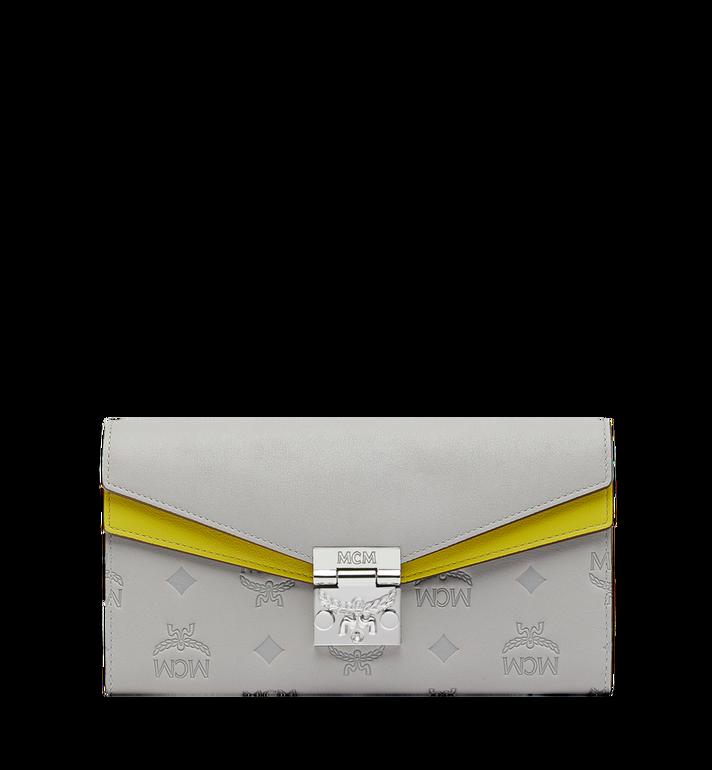 MCM Patricia Crossbody Brieftasche aus Leder mit Monogramm MYL9SPA57IV001 AlternateView