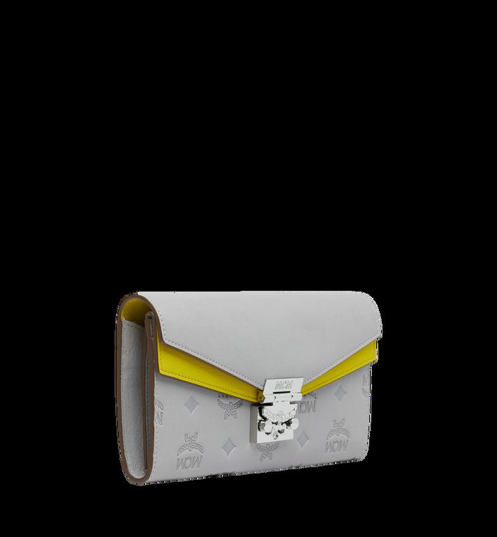 MCM Patricia Crossbody Brieftasche aus Leder mit Monogramm MYL9SPA57IV001 AlternateView2