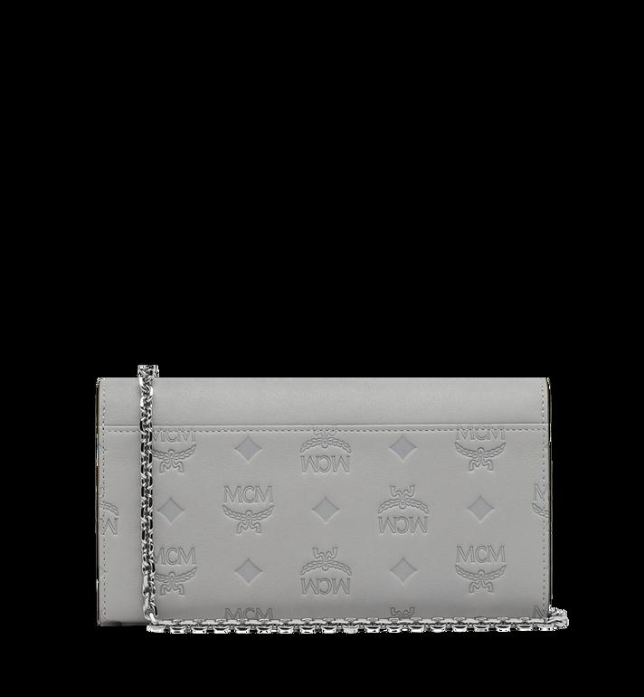 MCM Patricia Crossbody Brieftasche aus Leder mit Monogramm MYL9SPA57IV001 AlternateView3