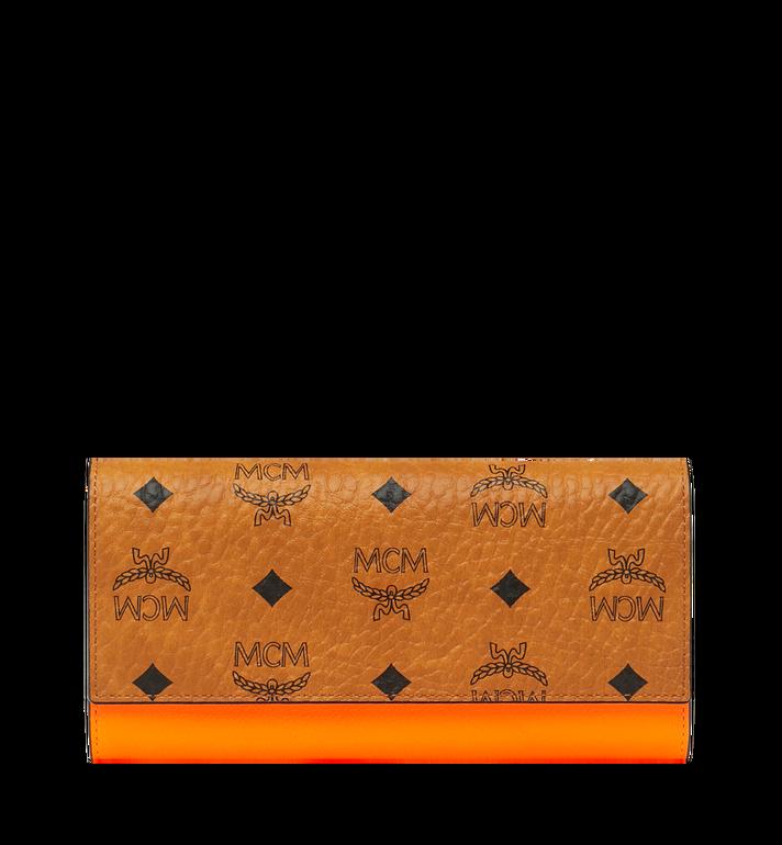 MCM Geonautic Two-Fold Wallet in Visetos AlternateView