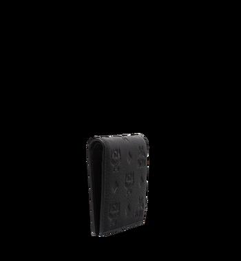 MCM Klara gefaltete Brieftasche aus Leder mit Monogramm MYM7AKM13BK001 AlternateView2