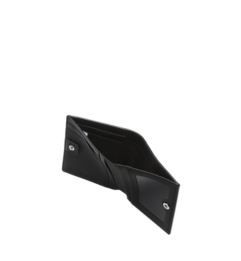 MCM Klara gefaltete Brieftasche aus Leder mit Monogramm MYM7AKM13BK001 AlternateView5