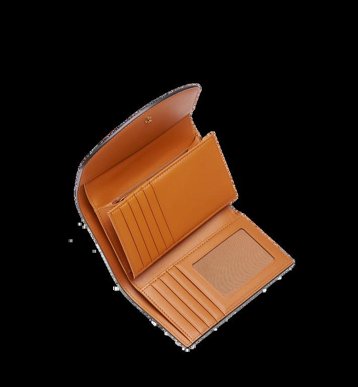 MCM Three Fold Wallet in Visetos Colorblock Leather MYM8SVI15BK001 AlternateView4