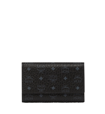 MCM Original dreifach gefaltete Brieftasche in Visetos MYM8SVI49BK001 AlternateView