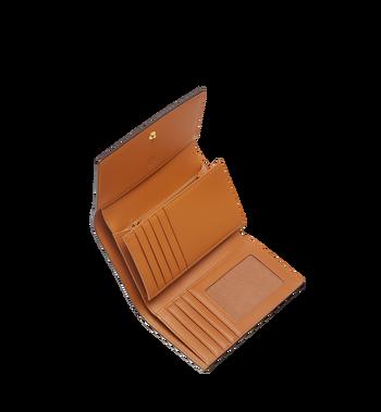 MCM Three Fold Wallet in Visetos Original MYM8SVI49CO001 AlternateView4