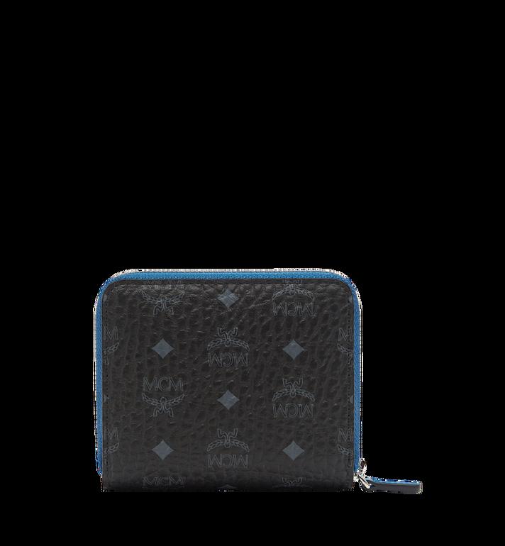 MCM Color Visetos Zip Wallet MYS7AVC95BK001 AlternateView3
