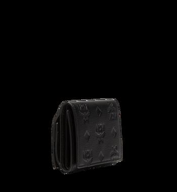 MCM Klara dreifach gefaltete Kleingeldbörse aus Leder mit Monogramm MYS8SKM36BK001 AlternateView2