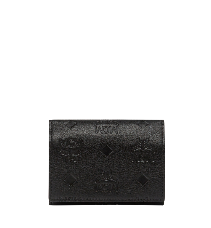 MCM Klara Three Fold Coin Case in Monogram Leather MYS8SKM36BK001 AlternateView3