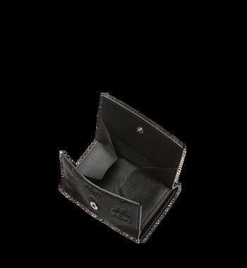 MCM Klara dreifach gefaltete Kleingeldbörse aus Leder mit Monogramm MYS8SKM36BK001 AlternateView5