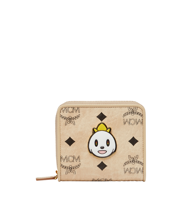 MCM MCM x Eddie Kang Zip Around Wallet in Visetos MYS8SOC47IG001 AlternateView