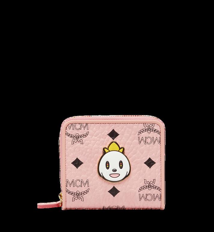 MCM MCM x Eddie Kang Brieftasche mit Rundum-Reißverschluss in Visetos MYS8SOC47PZ001 AlternateView