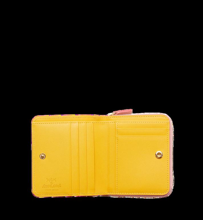 MCM MCM x Eddie Kang Brieftasche mit Rundum-Reißverschluss in Visetos MYS8SOC47PZ001 AlternateView4