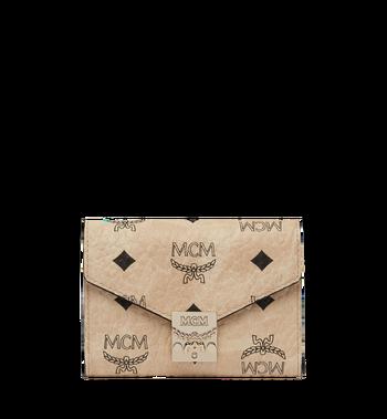 MCM Patricia dreifach gefaltete Brieftasche in Visetos MYS8SPA13IG001 AlternateView