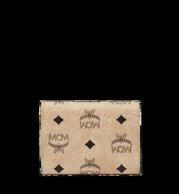 MCM Patricia dreifach gefaltete Brieftasche in Visetos MYS8SPA13IG001 AlternateView3