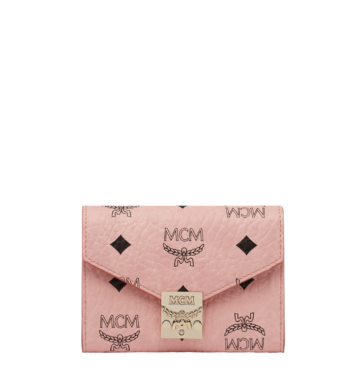 MCM Patricia dreifach gefaltete Brieftasche in Visetos MYS8SPA13PZ001 AlternateView