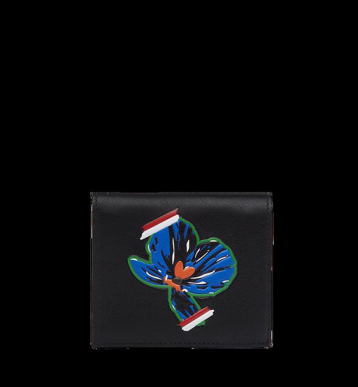 MCM Portefeuille à deux volets Essential Victory Flower MYS8SSE07BK001 AlternateView