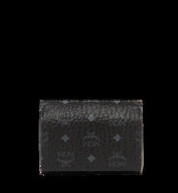 MCM Original dreifach gefaltete Kleingeldbörse in Visetos MYS8SVI36BK001 AlternateView3