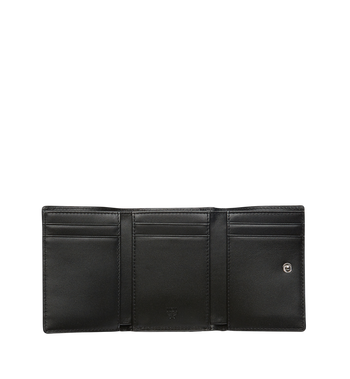MCM Original dreifach gefaltete Kleingeldbörse in Visetos MYS8SVI36BK001 AlternateView4