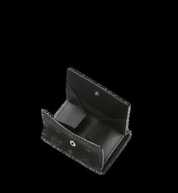 MCM Original dreifach gefaltete Kleingeldbörse in Visetos MYS8SVI36BK001 AlternateView5