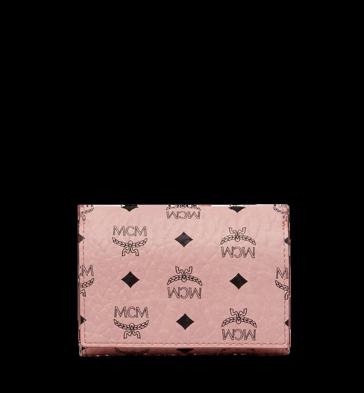 MCM Three Fold Coin Wallet in Visetos Original MYS8SVI36PZ001 AlternateView3
