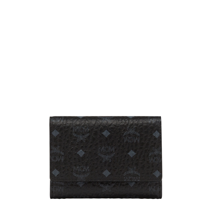 MCM Three Fold Wallet in Visetos Original AlternateView