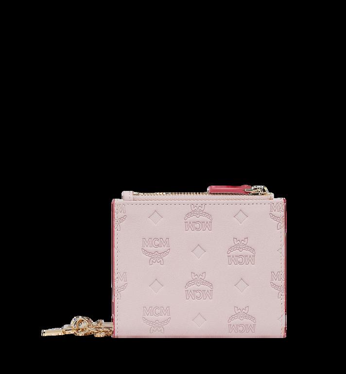 MCM Two Fold Flat Wallet in Monogram Leather Charm MYS9SKM13QA001 AlternateView3