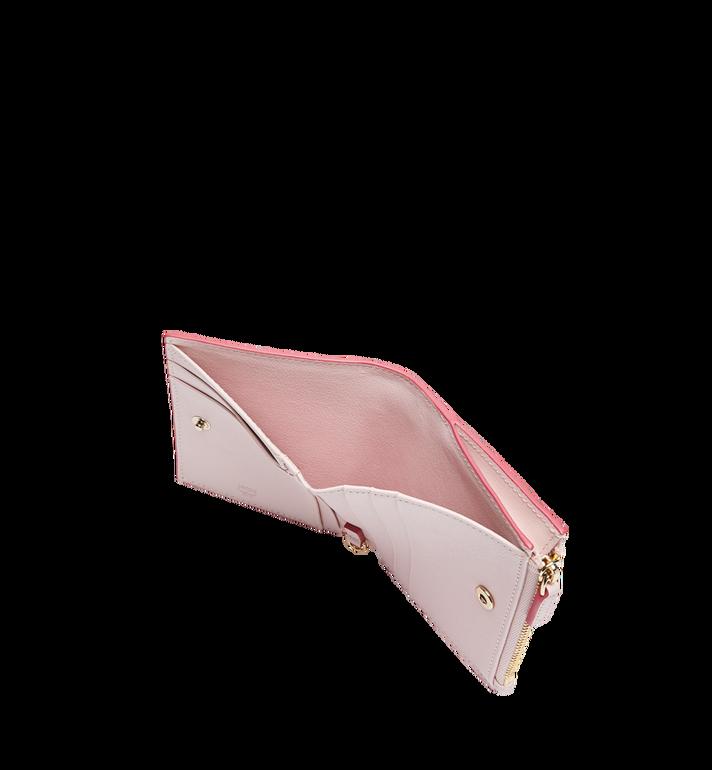 MCM Two Fold Flat Wallet in Monogram Leather Charm MYS9SKM13QA001 AlternateView5