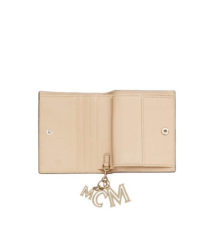 MCM Flat Wallet in Monogram Leather Charm MYS9SKM40IA001 AlternateView4