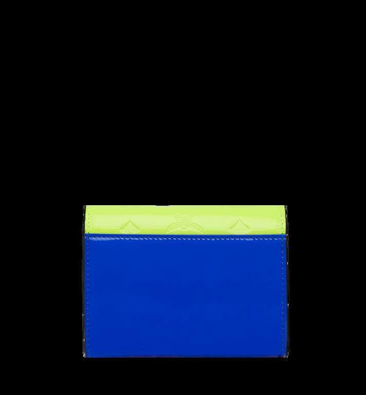 MCM Dreifach gefaltete Patricia Brieftasche aus Lackleder mit Monogramm AlternateView3