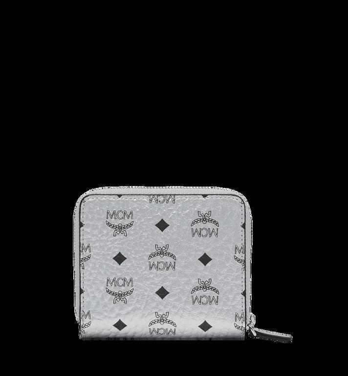 MCM Zip Around Wallet in Visetos Original MYS9SVI95SB001 AlternateView3