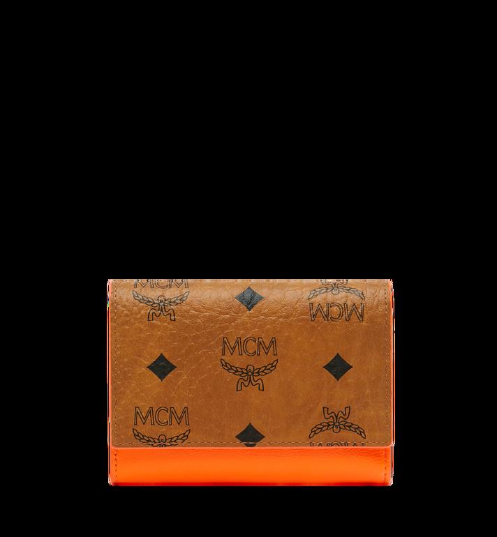 MCM Geonautic Three-Fold Wallet in Visetos AlternateView