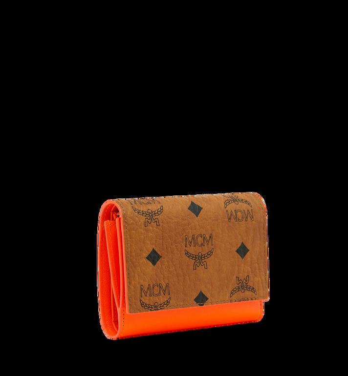 MCM Geonautic Three-Fold Wallet in Visetos AlternateView2