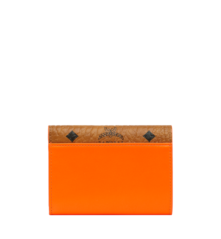 MCM Geonautic Three-Fold Wallet in Visetos AlternateView3
