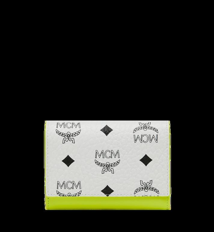 MCM Geonautic dreifach gefaltete Brieftasche in Visetos AlternateView