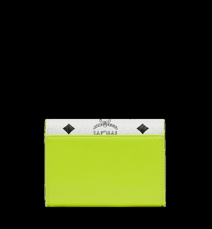 MCM Geonautic dreifach gefaltete Brieftasche in Visetos AlternateView3