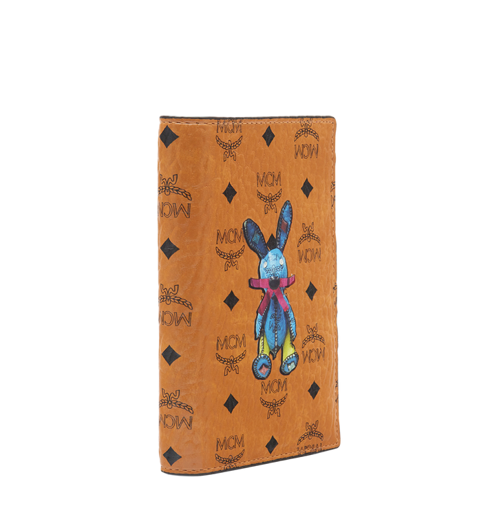 MCM Rabbit Passport Holder in Visetos MYV6AXL45CO001 AlternateView2