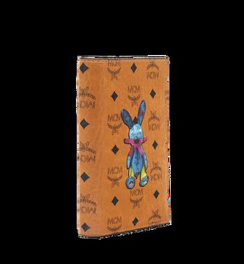 MCM Rabbit Passport Holder in Visetos MYV6AXL45CO001 AlternateView2